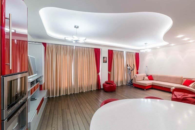 Натяжные потолки с подсветкой в Челябинске | Lean